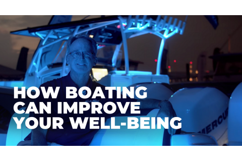 How boating can improve well-being